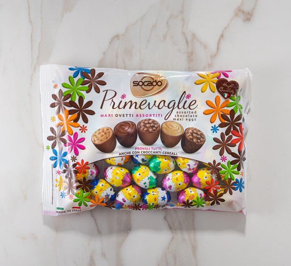 Primevoglie Assorted Chocolate Praline Eggs