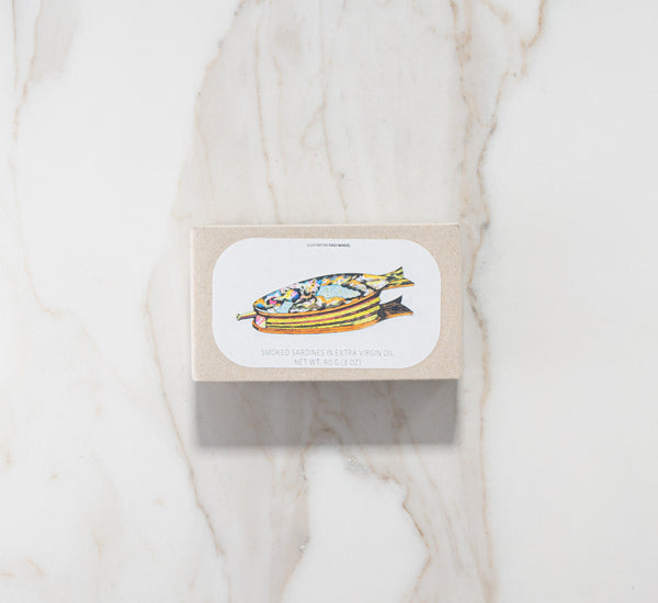 Jose Gourmet Smoked Small Sardines in Extra Virgin Olive Oil