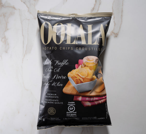 Oo La La Potato Chips  - Black Truffle and Olive Oil