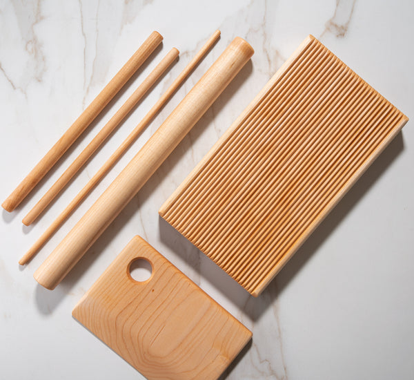 Wood Heirloom Pasta Tool Set - 6 Pieces