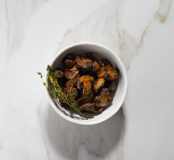 Pizza or Pasta Add on - Roasted Mushrooms
