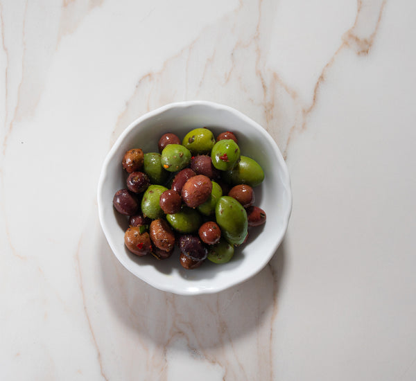 Savio's Marinated Mixed Olives