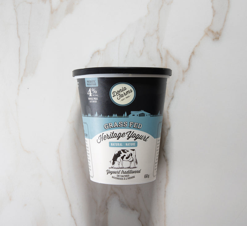 Donia Farms Heritage Natural Yogurt