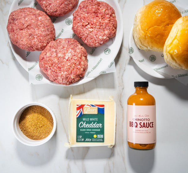 Wagyu Cheeseburger BBQ Kit