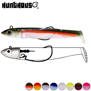 Lead Jig Head Minnow Lure