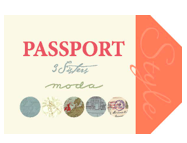 Passport by 3 Sisters for Moda