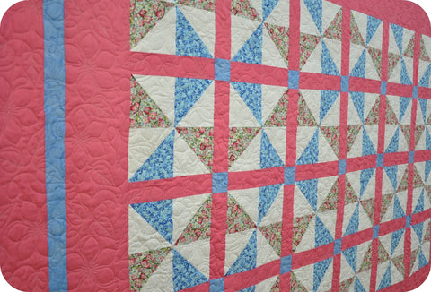 Joseph S Pinwheel Quilt Quilted Thimble Cottage