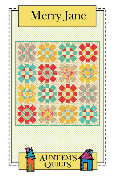 Pattern - Merry Jane by Auntems Quilts (AEQ39)