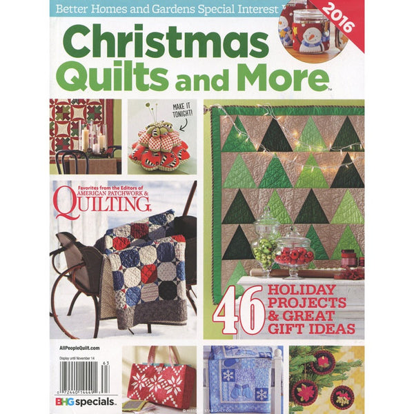 Magazine - Christmas Quilts and More (2016)