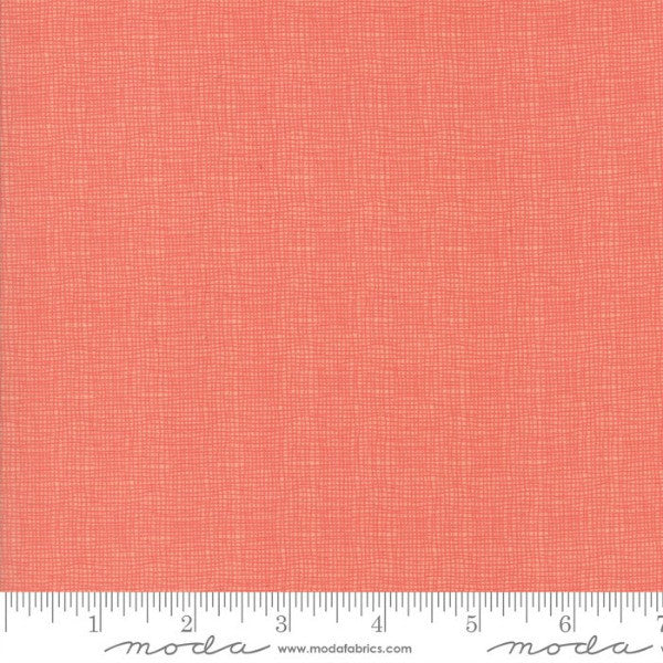 Lulu Lane by Corey Yoder - Woven in Coral 108 Wide (11122-14)