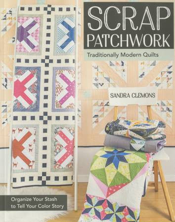 Book - Scrap Patchworkby Sandra Clemons