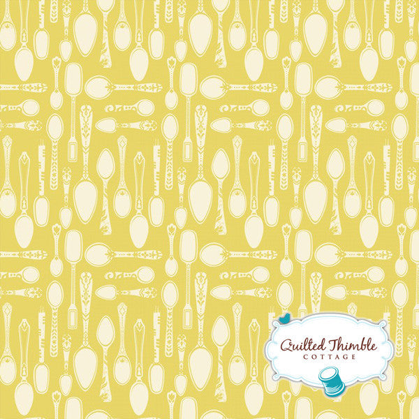 Clementine by Ana Davis - Spoonful of Sugar Yellow (113.104.04.3)