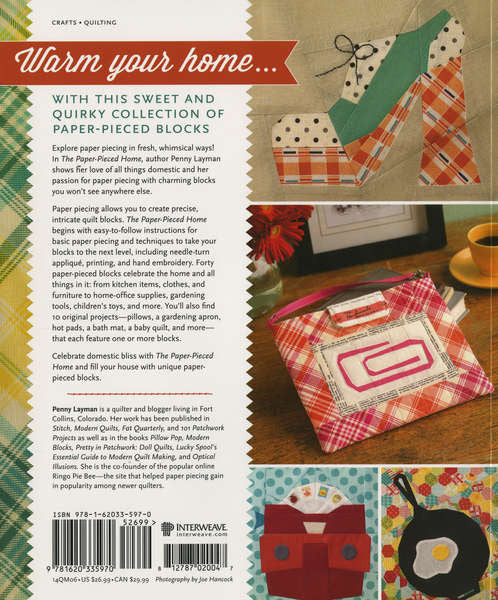 Book - The Paper Pieced Home by Penny Layman (14QM06)