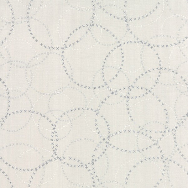 Modern Background Paper by Zen Chic - XOXO in Graphite Fog (1584-17)