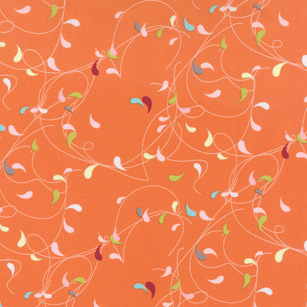 Flow by Zen Chic - Splash in Orange (1591-11)