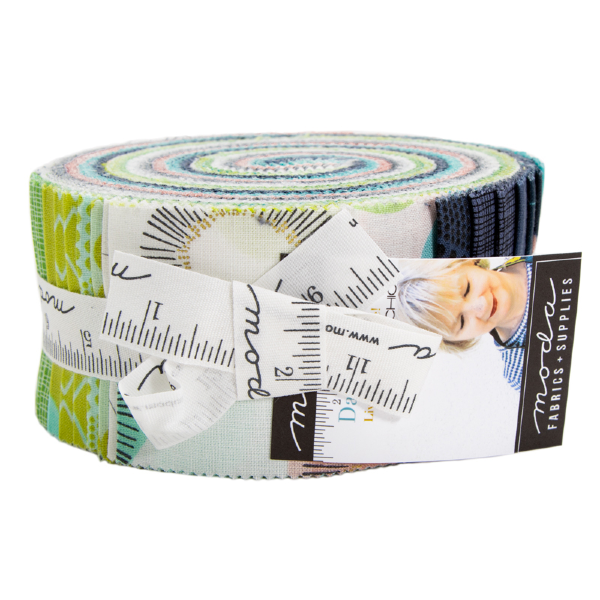 Day in Paris Dot by Zen Chic - Jelly Roll (1680JR)