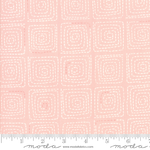 Breeze by Zen Chic - Stitched in Coral (1693-18)