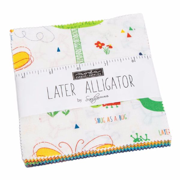 Later Alligator by Sandy Gervais - Charm Pack (17980PP)
