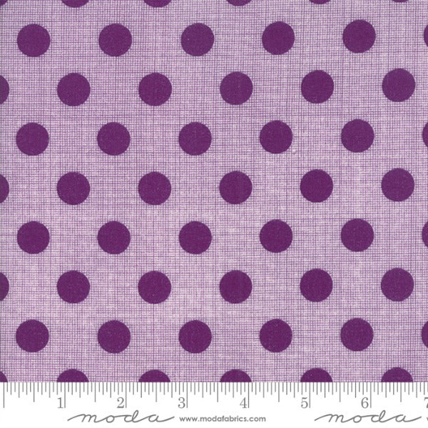 Circulus by Jen Kingwell - Movelty Dots in Iris (18131-20)