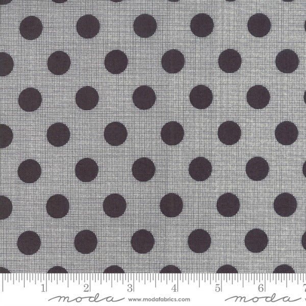 Circulus by Jen Kingwell - Movelty Dots in Charcoal (18131-26)