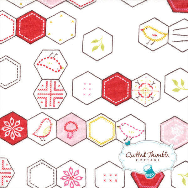 Sew Stitchy by Aneela Hoey - Cotton Hexagons (18542-11)