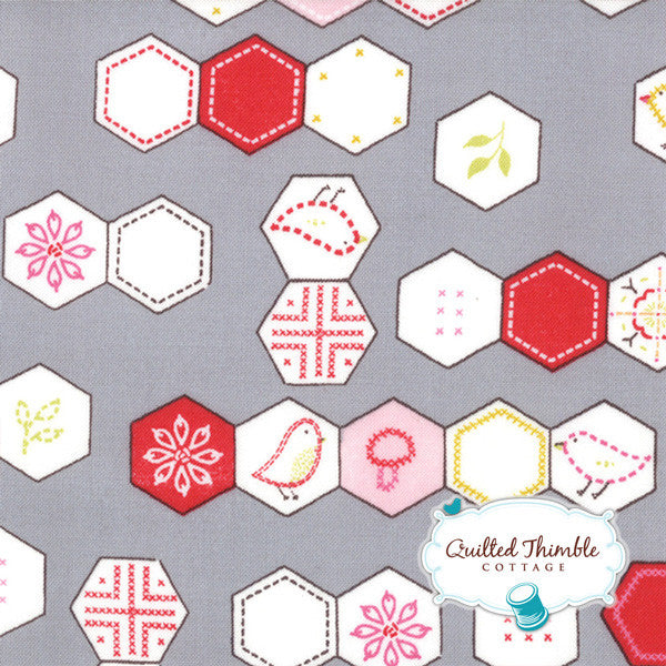 Sew Stitchy by Aneela Hoey - Needle Hexagons (18542-15)