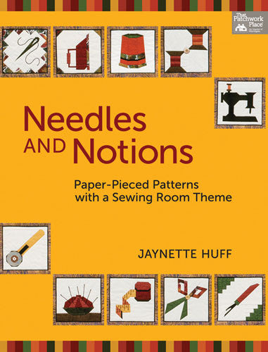Book - Needles and Notions by Jaynette Huff