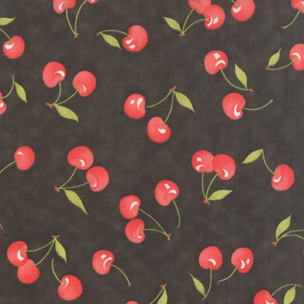 Farmhouse by Fig Tree - Vintage Cherries in Midnight (20251-18)