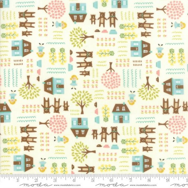Home Sweet Home by Stacy Iest Hsu - Goldie & The Three Bears in Cream (20572-11)