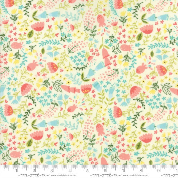 Home Sweet Home by Stacy Iest Hsu - Forest Flora in Cream (20574-11)