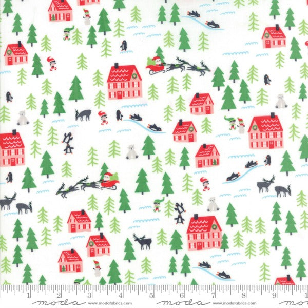 The North Pole by Stacy Iest Hsu - Santa's Village in Snow (20582-11)