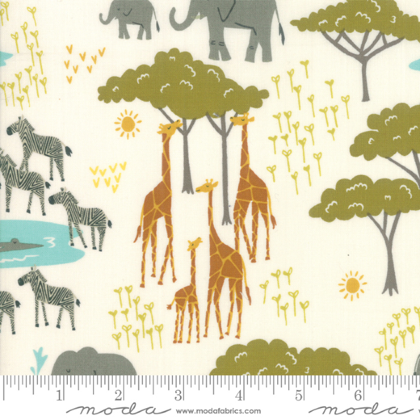 Safari Life by Stacy Iest Hsu - In the Native in Cream (20643-11)