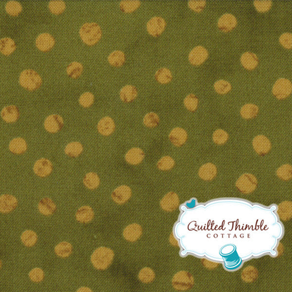 Simple Marks by Malka Dubrawsky - Speckled Dots Moss (23209-22)