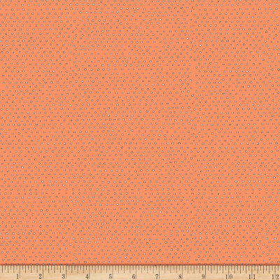 Pixie Square Dot Blender by Ink & Arrow Fabrics - Square Dot in Apricot (24299-C)