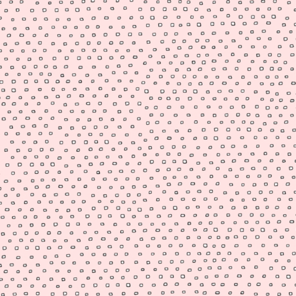 Pixie Square Dot Blender by Ink & Arrow Fabrics - Square Dot in Baby Pink (24299-PD)