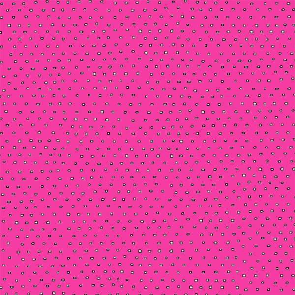 Pixie Square Dot Blender by Ink & Arrow Fabrics - Square Dot in Hot Pink (24299-PV)
