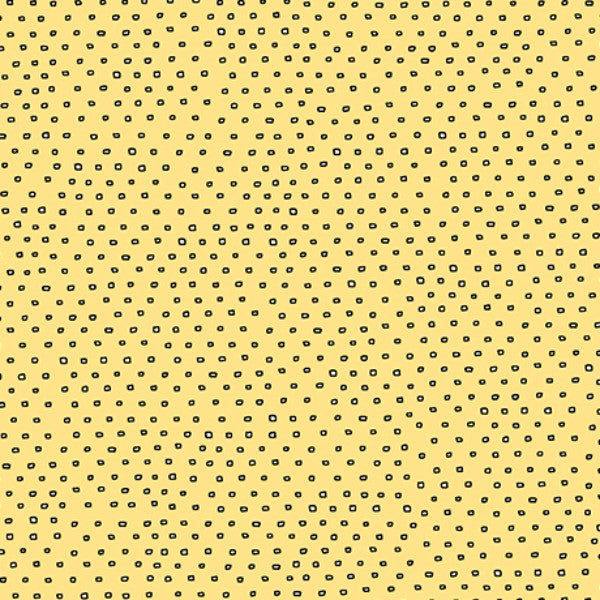 Pixie Square Dot Blender by Ink & Arrow Fabrics - Square Dot in Yellow (24299-SZ)