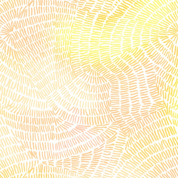 Ombre Stitches by Quilting Treasures - Ombre Stitches in Soft Yellow (25974-S)