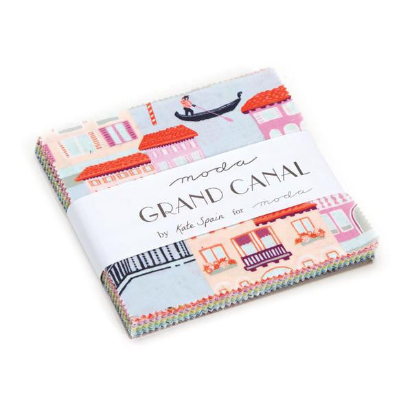 Grand Canal by Kate Spain - Charm Pack (27255PP)