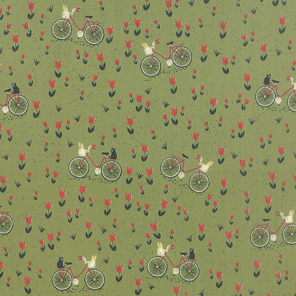 Mon Ami by BasicGrey - Bicyclette in Vert (30413-15)