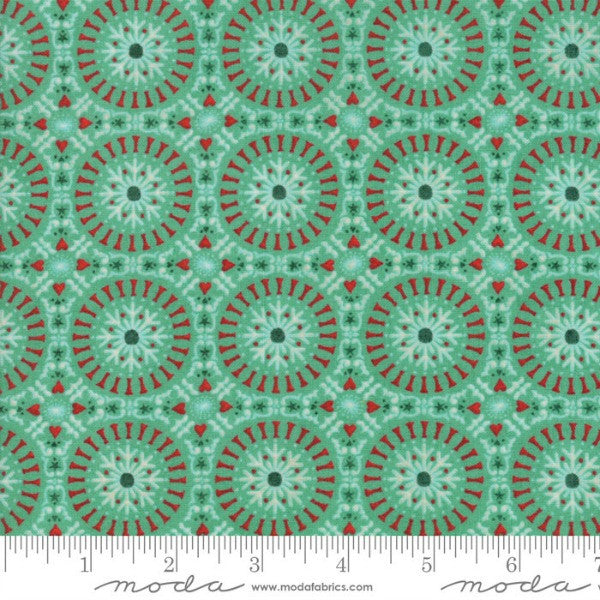 Berry Merry by BasicGrey - Tile in Mint (30474-15)