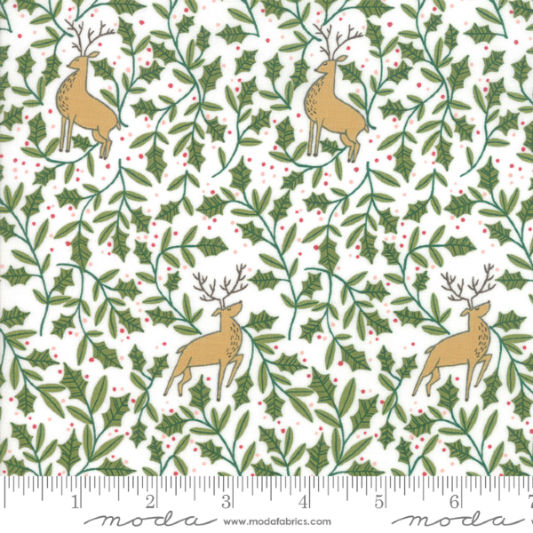 To Be Jolly by One Canoe Two - Holly Deer in Snowflake (30644-11)