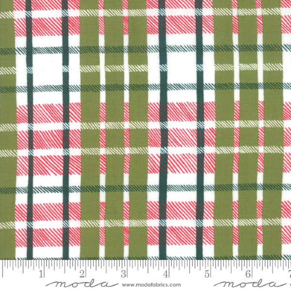 To Be Jolly by One Canoe Two - Plaid in Mistletoe (30646-16)