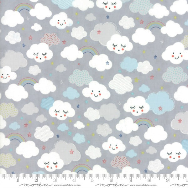 Stellar Baby by Abi Hall - Cutie Clouds in Moonbeam (35321-13)