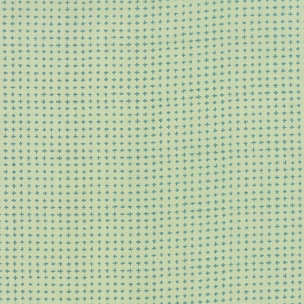 Tucker Prairie by One Canoe Two - Tiny Crosses in Winter Sage (36006-22)