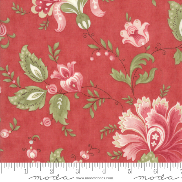 Porcelain by 3 Sisters - Jacobean in Rose (44190-16)