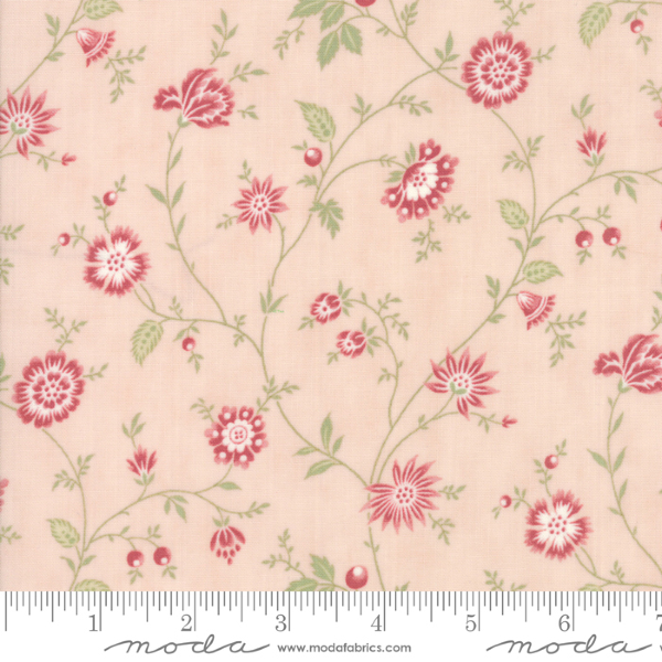Porcelain by 3 Sisters - Heirloom Floral in Blossom (44193-15)