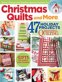 Magazine - Christmas Quilts and More (2015)