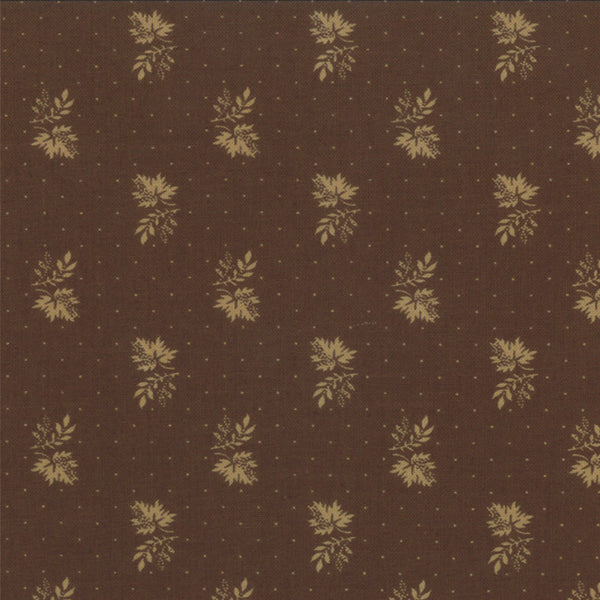 Mill Book Series Circa 1852 - Little Leaves Brown (46184-19)