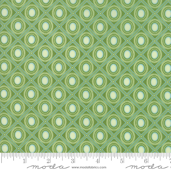 Coledale by Franny & Jane - Diamonds in Green (47525-11)